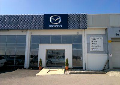 AC Kos, Varaždin - Mazda - unutarnja rasvjeta (1)
