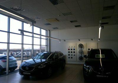 AC Kos, Varaždin - Mazda - unutarnja rasvjeta (11)
