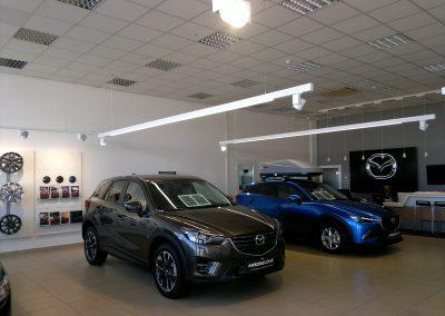 AC Kos, Varaždin - Mazda - unutarnja rasvjeta (2)