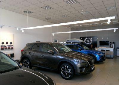 AC Kos, Varaždin - Mazda - unutarnja rasvjeta (5)