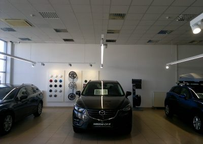 AC Kos, Varaždin - Mazda - unutarnja rasvjeta (9)