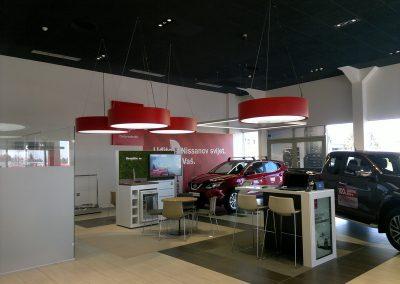 AC Kos, Varaždin - Nissan - unutarnja rasvjeta (10)