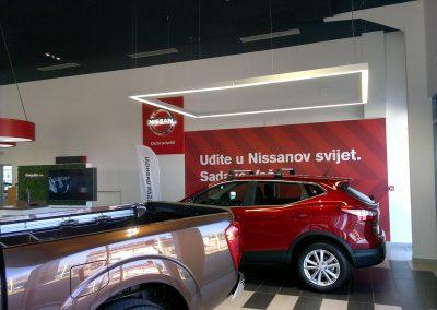 AC Kos, Varaždin - Nissan - unutarnja rasvjeta (4)