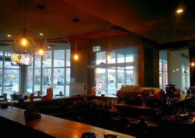 Caffe bar South, Čakovec - unutarnja rasvjeta (10)