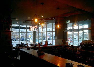 Caffe bar South, Čakovec - unutarnja rasvjeta (11)