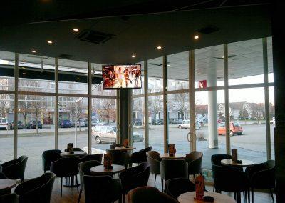 Caffe bar South, Čakovec - unutarnja rasvjeta (13)