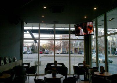 Caffe bar South, Čakovec - unutarnja rasvjeta (14)
