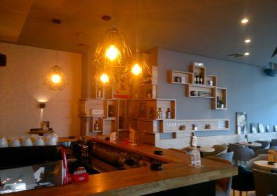 Caffe bar South, Čakovec - unutarnja rasvjeta (15)