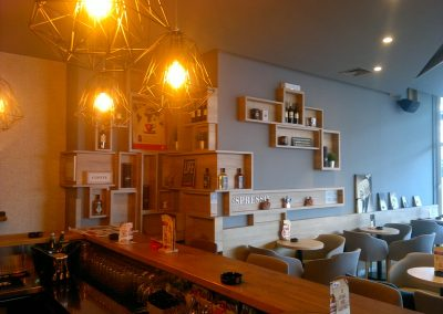 Caffe bar South, Čakovec - unutarnja rasvjeta (16)