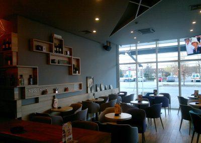 Caffe bar South, Čakovec - unutarnja rasvjeta (17)
