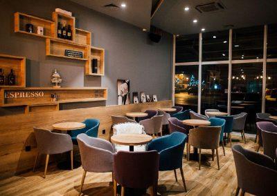 Caffe bar South, Čakovec - unutarnja rasvjeta (18)