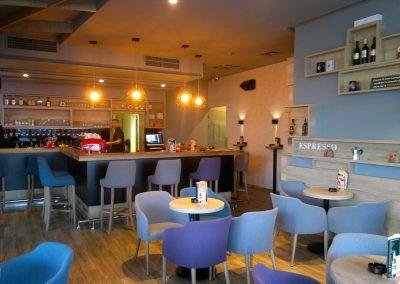 Caffe bar South, Čakovec - unutarnja rasvjeta (2)