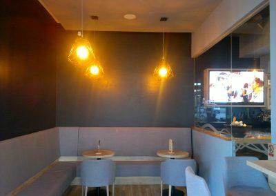 Caffe bar South, Čakovec - unutarnja rasvjeta (20)