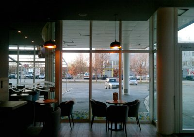 Caffe bar South, Čakovec - unutarnja rasvjeta (21)