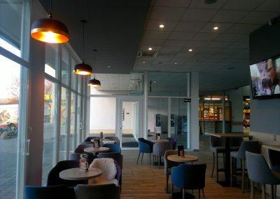 Caffe bar South, Čakovec - unutarnja rasvjeta (23)