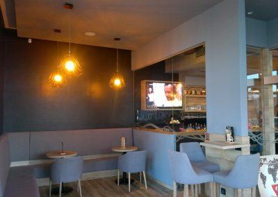 Caffe bar South, Čakovec - unutarnja rasvjeta (28)