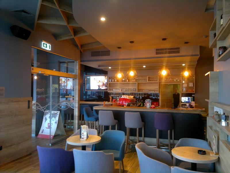 Caffe bar South, Čakovec - unutarnja rasvjeta (3)