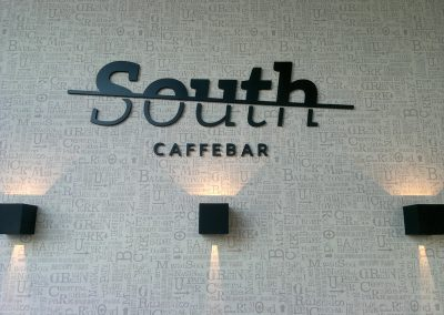 Caffe bar South, Čakovec – unutarnja rasvjeta
