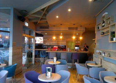 Caffe bar South, Čakovec - unutarnja rasvjeta (4)
