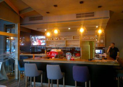 Caffe bar South, Čakovec - unutarnja rasvjeta (5)