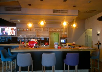 Caffe bar South, Čakovec - unutarnja rasvjeta (6)