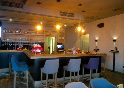 Caffe bar South, Čakovec - unutarnja rasvjeta (7)