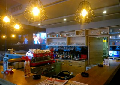 Caffe bar South, Čakovec - unutarnja rasvjeta (8)