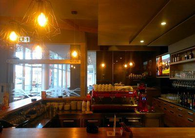 Caffe bar South, Čakovec - unutarnja rasvjeta (9)